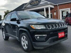 2018 Jeep Compass North 4x4, Heated Seats/Wheel, Back Up Camera,
