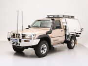 2005 Nissan Patrol GU ST (4x4) Gold 5 Speed Manual Coil Cab Chassis Jandakot Cockburn Area Preview