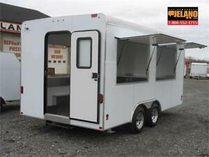JELANO - FOOD TRAILER - CANTINE MOBILE - NEUVE