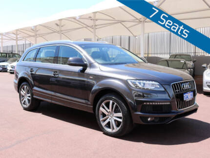 2012 Audi Q7 MY13 3.0 TDI Quattro Grey 8 Speed Automatic Tiptronic Wagon Morley Bayswater Area Preview
