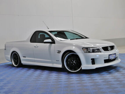 2010 Holden Commodore VE MY10 SS White 6 Speed Automatic Utility