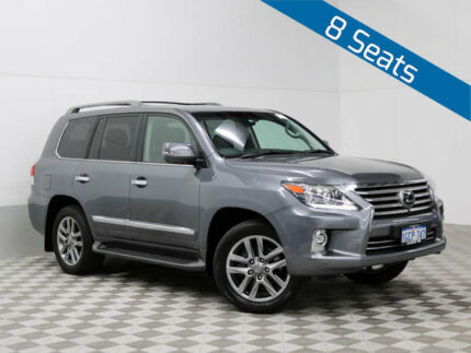 2014 Lexus LX570 URJ201R MY12 Graphite 6 Speed Automatic Wagon