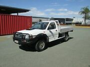 2008 Nissan Navara D22 MY2008 DX White 5 Speed Manual Cab Chassis Coopers Plains Brisbane South West Preview