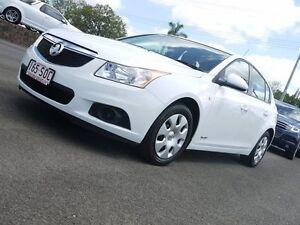 2012 Holden Cruze JH Series II MY12 CD White 6 Speed Sports Automatic Hatchback Svensson Heights Bundaberg City Preview