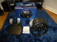 Boxed Thrustmaster T300RS Steering Wheel