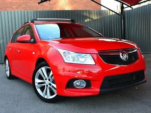 2014 Holden Cruze JH Series II MY14 SRI Z SERIES Red 6 Speed Sports Automatic Hatchback Fawkner Moreland Area Preview