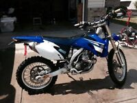 2008 Yamaha WR 450  - Street Legal DirtBike - Enduro