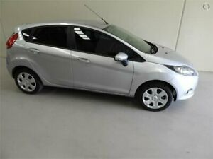 2011 Ford Fiesta WT CL PwrShift Silver 6 Speed Sports Automatic Dual Clutch Hatchback Coburg North Moreland Area Preview