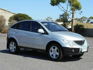 2007 Ssangyong Actyon C100 A230 Silver 4 Speed Automatic Wagon Maidstone Maribyrnong Area Preview