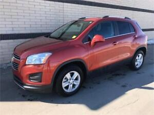 2016 CHEVY TRAX AWD LT. Only 8,400 kms!!
