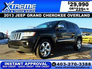 2013 Jeep Grand Cherokee $225 BI-WEEKLY APPLY NOW DRIVE NOW