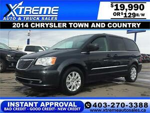 2014 Chrysler Town and Country $129 b/w APPLY NOW DRIVE NOW