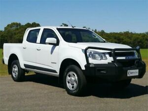 2015 Holden Colorado RG MY15 LS White Sports Automatic Cab Chassis