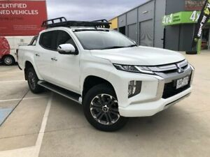 2019 Mitsubishi Triton MR MY20 GLS (4x4) White 6 Speed Manual Double Cab Pick Up Kilmore Mitchell Area Preview
