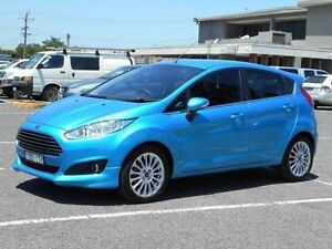 2014 Ford Fiesta WZ Sport Blue 6 Speed Automatic Hatchback Maidstone Maribyrnong Area Preview