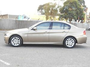 2006 BMW 320i E90 Executive Gold 6 Speed Steptronic Sedan Maidstone Maribyrnong Area Preview