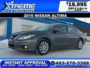 2016 Nissan Altima $119 BI-WEEKLY APPLY NOW DRIVE NOW