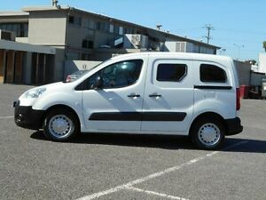 2008 Peugeot Partner B9P 1.6 HDI White 5 Speed Manual Van Maidstone Maribyrnong Area Preview