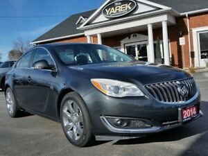 2014 Buick Regal Turbo, Leather Heated Seats, Sunroof, Back Up C