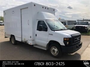 2008 Ford E-450 DRW Diesel Built in shop in cargo area