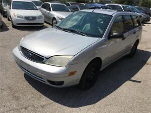 2006 Ford Focus SES ZXW Wagon Very low KM with Leather and Roof