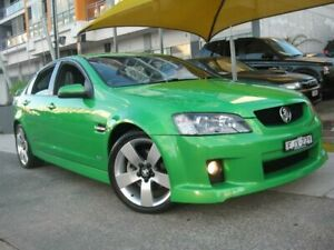 2008 Holden Commodore VE MY08 SS-V Green 6 Speed Manual Sedan