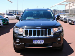 2013 Jeep Grand Cherokee WK MY13 Limited (4x4) Brilliant Black 5 Speed Automatic Wagon