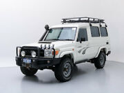 2010 Toyota Landcruiser VDJ78R 09 Upgrade Workmate (4x4) 11 Seat White 5 Speed Manual TroopCarrier Jandakot Cockburn Area Preview