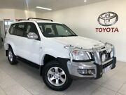 2006 Toyota Landcruiser Prado GRJ120R GXL (4x4) White 5 Speed Automatic Wagon Bungalow Cairns City Preview