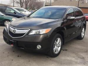 2014 Acura RDX-TECH-LEATHER-NAV-HTD SEATS-SUNROOF-NO ACCIDENTS