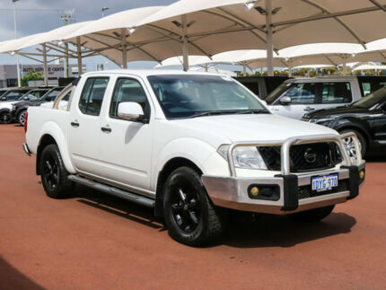 2012 Nissan Navara D40 MY12 ST (4x2) White 6 Speed Manual Dual Cab Pick-up Jandakot Cockburn Area Preview