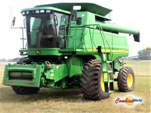 2005 John Deere 9760 STS Combine (GreenStar, Brown Box Y&M)
