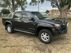 2011 Holden Colorado RC MY11 LX-R Crew Cab Black 5 Speed Manual Utility Kempsey Kempsey Area Preview