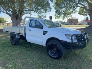 2013 Ford Ranger PX XL White 6 Speed Manual Cab Chassis Kempsey Kempsey Area Preview