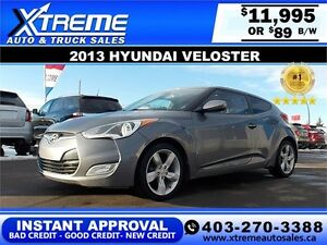 2013 Hyundai Veloster $89 BI-WEEKLY APPLY NOW DRIVE NOW