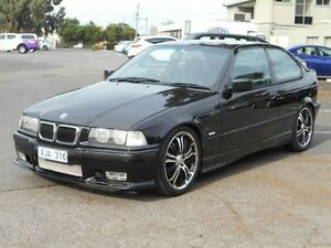 2000 BMW 316I E36 Black 4 Speed Automatic Hatchback Maidstone Maribyrnong Area Preview