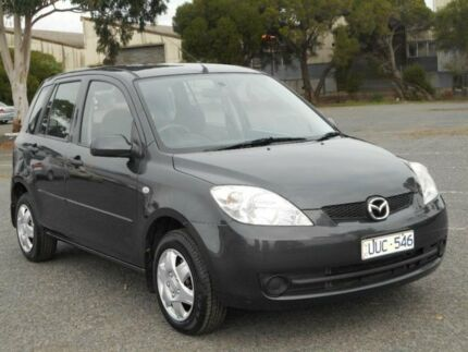 2007 Mazda 2 DE Neo Grey 4 Speed Automatic Hatchback Maidstone Maribyrnong Area Preview