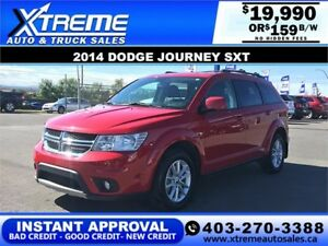 2014 Dodge Journey SXT $159 BI-WEEKLY APPLY NOW DRIVE NOW