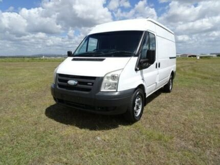 2007 Ford Transit VM Mid Roof LWB White 6 Speed Manual Van Archerfield Brisbane South West Preview
