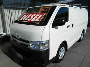 2013 Toyota HiAce KDH201R MY12 Upgrade LWB White 5 Speed Manual Van West Hindmarsh Charles Sturt Area Preview