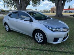 2015 Toyota Corolla ZRE172R Ascent S-CVT Silver 7 Speed Constant Variable Sedan Kempsey Kempsey Area Preview