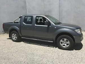 2010 Nissan Navara D40 ST (4x4) Grey 5 Speed Automatic Dual Cab Pick-up Seaford Frankston Area Preview