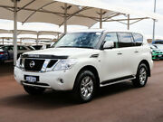 2013 Nissan Patrol Y62 TI-L (4x4) White 7 Speed Automatic Wagon Jandakot Cockburn Area Preview