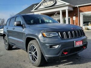 2018 Jeep Grand Cherokee Trailhawk 4x4 V6, Air Suspension, Pano