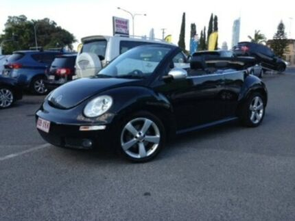 2010 Volkswagen Beetle 1Y MY2010 Black 6 Speed Sports Automatic Cabriolet