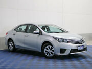 2014 Toyota Corolla ZRE172R Ascent Silver 7 Speed CVT Auto Sequential Sedan Morley Bayswater Area Preview