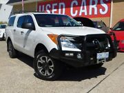 2013 Mazda BT-50 UP0YF1 XT White 6 Speed Sports Automatic Utility Belconnen Belconnen Area Preview