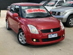 2008 Suzuki Swift EZ 07 Update S Burgundy 4 Speed Automatic Hatchback Werribee Wyndham Area Preview