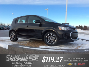 2017 Chevrolet Sonic SUNROOF,4G WIFI *NEW LOW PRICE $119.27 BW