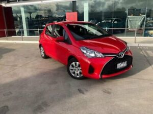 2016 Toyota Yaris NCP130R MY15 Ascent Cherry 5 Speed Manual Hatchback Kilmore Mitchell Area Preview